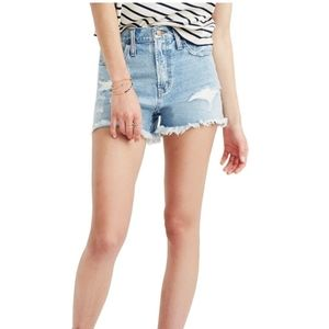 """Madewell """"The Perfect Jean Shorts"""""""